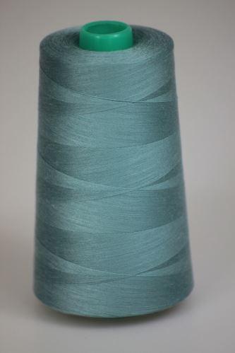 Niť KORALLI polyesterová 120, 5000Y, odtieň 5210, modrá-zelená