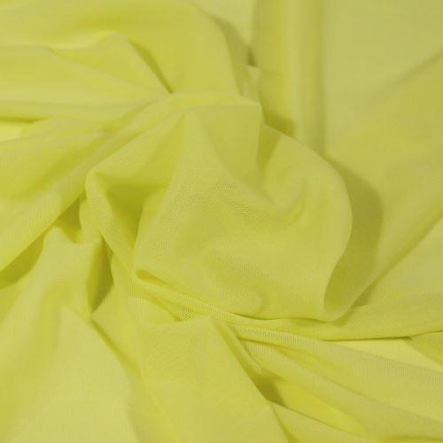 Elastický tyl žlutý, š.165