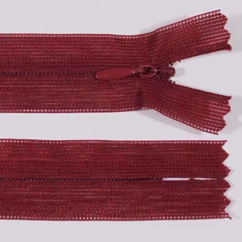 Zip skrytý šatový 3mm délka 55cm, barva 178
