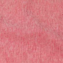 Len červený melange 19748, 180g/m, š.135