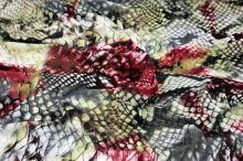Úplet farebný 15369, zvierací vzor š.150