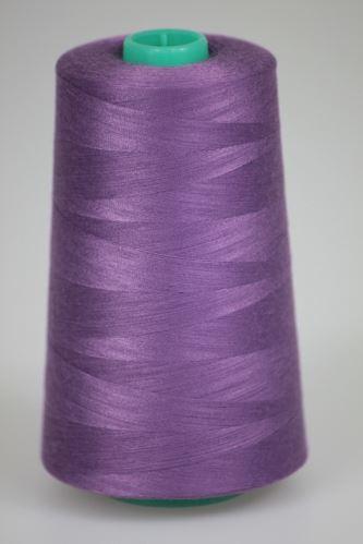 Niť KORALLI polyesterová 120, 5000Y, odtieň 4570, fialová