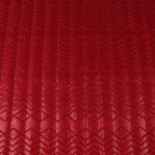 Prešiv červený G0051, š.135