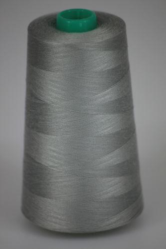 Niť KORALLI polyesterová 120, 5000Y, odtieň 9180, šedá
