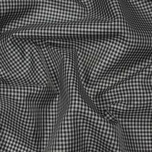 Podšívka černobílé káro, š.145