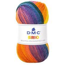 Příze BRIO 100g, barevný mix - odstín 400