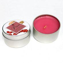 Sviečka s plechovým viečkom - Granátové jablko