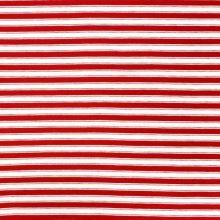 Úplet 20386, červeno-biely pruh, š.155