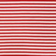 Úplet 20386, červeno-bílý pruh, š.155