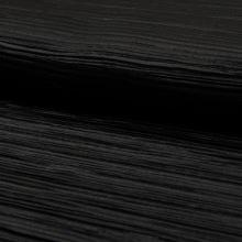 Plisé černé, š.150