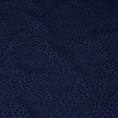 Úplet vzorovaný, modro-čierny, š.130