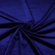 Samet N3787 modrý, š.145