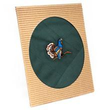 Pánský kapesník s výšivkou, tetřev