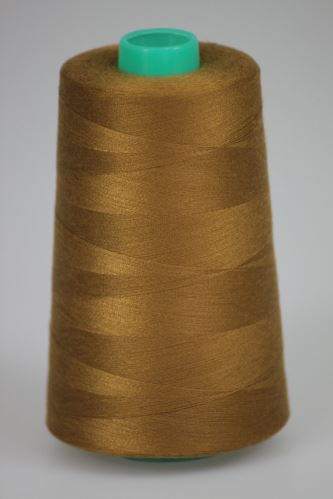 Nit KORALLI polyesterová 120, 5000Y, odstín 8260, béžová-hnědá