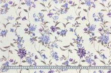 Dekoračná látka P0547, kvetinový vzor, š.140