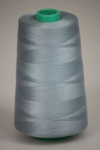 Niť KORALLI polyesterová 120, 5000Y, odtieň 5165, modrá-šedá