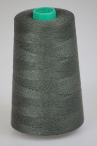 Niť KORALLI polyesterová 120, 5000Y, odtieň 6790, zelená