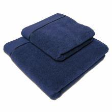 Ručník mikrobavlna Sleep Well 50x100 cm, modrý navy