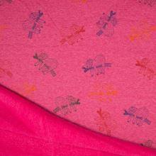Warmkeeper růžový, barevní lenochodi, š.145