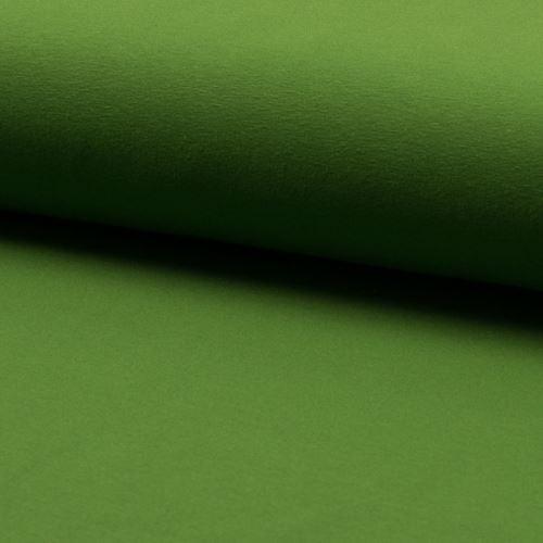 Úplet zelený 15528, 220g/m, š.160