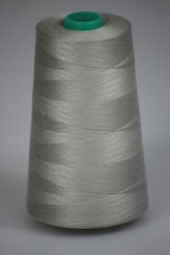 Nit KORALLI polyesterová 120, 5000Y, odstín 9120, šedá