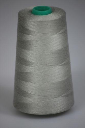Niť KORALLI polyesterová 120, 5000Y, odtieň 9120, šedá