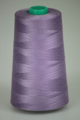 Niť KORALLI polyesterová 120, 5000Y, odtieň 4580, fialová