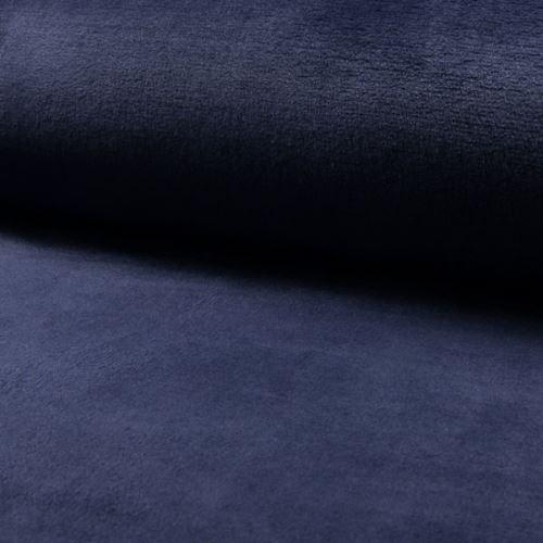 Coral fleece - wellsoft tmavě modrý, š.145