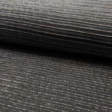 Šatovka plisé čierno-strieborné, š.145
