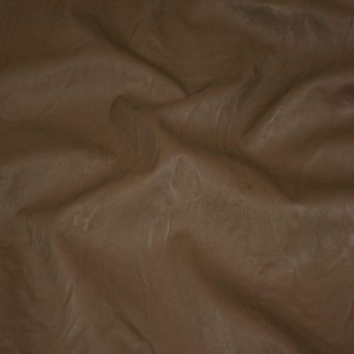 Koženka hnedá so vzorom, š.140