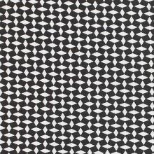 Kostýmovka BENGALÍNO, čierno-biele kosoštvorce, š.145