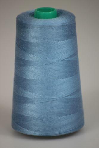 Nit KORALLI polyesterová 120, 5000Y, odstín 5350, modrá