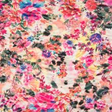 Úplet farebný 19557, kvetinový vzor, š.145