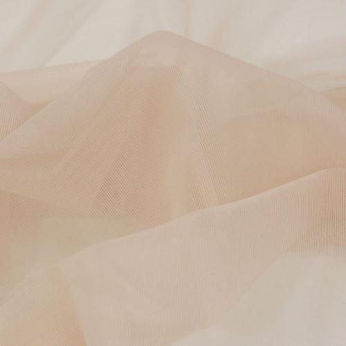 Elastický tyl VAPOR, telový, š.140