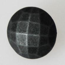 Gombík šedá patina K24-3, priemer 15 mm.