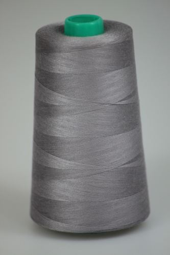 Nit KORALLI polyesterová 120, 5000Y, odstín 4125, šedá