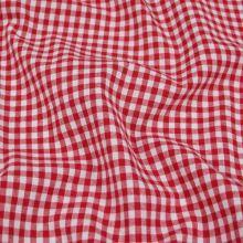 9808299cbf79 Bavlna červenobílé káro š.140