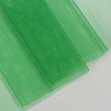 Tyl lesklý N3213, zelený š.155
