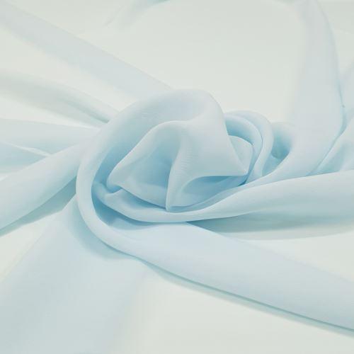 Šifon světle modrý P0122, š.150
