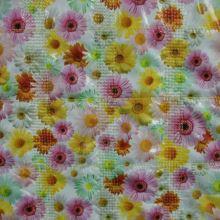 Prošev foto, barevné květy, š.140