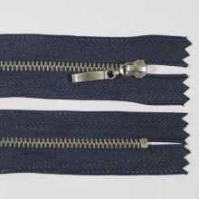Zips kovový 4mm chróm dĺžka 10cm, farba 330