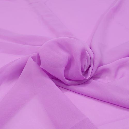 Šifón lila P0118, š.150