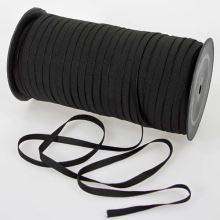 Pruženka prádlová černá jemná, šíře 6mm