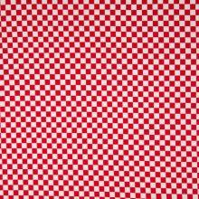 Úplet 21761, červeno-bílá šachovnice, š.150