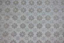 Šatovka strieborná, vzor kvet, š.145