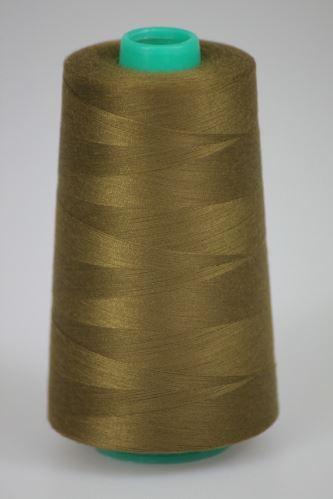 Niť KORALLI polyesterová 120, 5000Y, odtieň 8290, hnedá