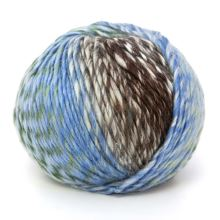Příze SHINE 100g, barevný mix - odstín 0135