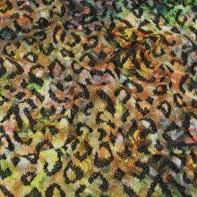 Úplet žluto-zelený zvířecí vzor š.145