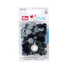 """Patentky Prym Love kulaté """"Color Snaps"""" 393003, 12,4 mm"""