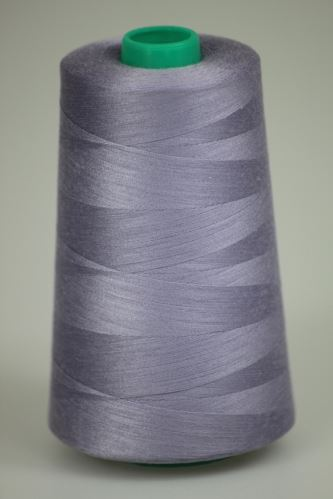 Nit KORALLI polyesterová 120, 5000Y, odstín 4145, fialová